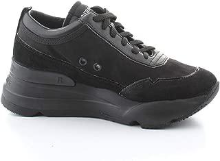 Ruco Line Luxury Fashion Womens 4041NERO Black Sneakers | Fall Winter 19