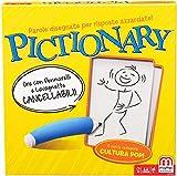 Mattel Games, Pictionary DPR76 - Juego en caja para familias, 8 años, idioma Italiano