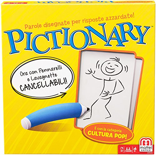 Mattel Games, Pictionary...