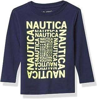 Nautica boys Nautica Boys' Long Sleeve Graphic T-Shirt T-Shirt