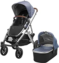Best 2018 UPPAbaby VISTA Stroller, Henry (Blue Marl/Silver/Saddle Leather) Review