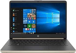 "HP 14"" Laptop, 2.4GHz Intel Core i3-7100U, 8GB RAM, 256GB SSD, HDMI, Card Reader, Wi-Fi, Bluetooth, Windows 10 Pro (Gold)"
