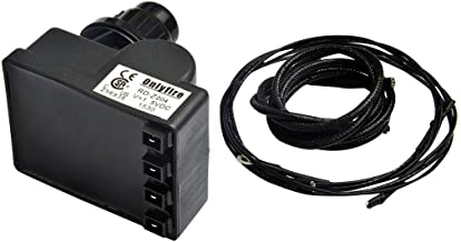 Onlyfire Universal Fit 4-Spark Electronic Push Button Igniter Kit for Char-Broil Most Grills, Black