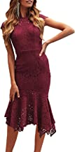 Best midi lace wedding dress Reviews