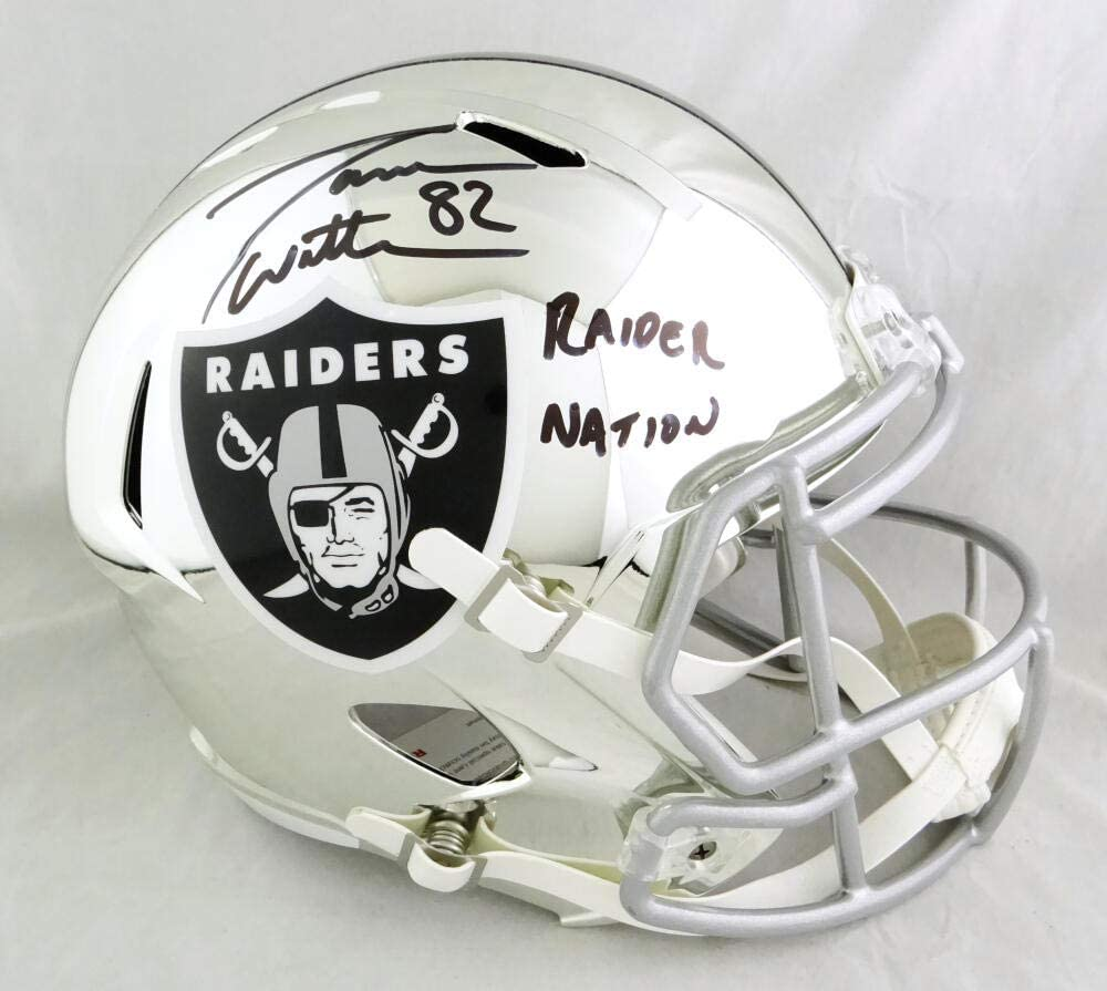 Jason Witten Autographed Las Vegas Raiders Our shop OFFers the best service Helm Speed S Chrome F Raleigh Mall