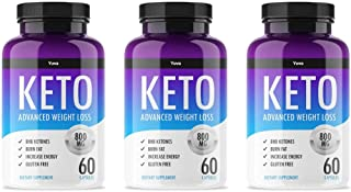 QFL Yuva Keto Diet Pills - Utilize Fat for Energy with Ketosis - Boost Energy & Focus, Manage Cravings, Support Metabolism...