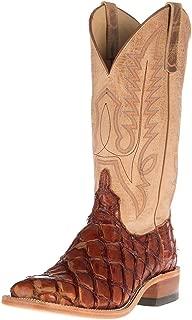 Mens Cognac Bass Cowboy Boots