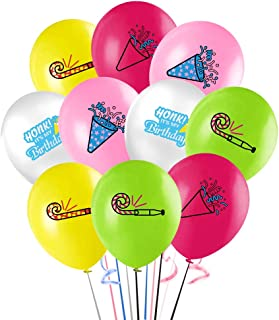 """30Pcs Happiness Honk Back Balloons, 12"""" It's My Birthday Latex Balloon for Kids Baby Shower Birthday Party Supplies Decora..."""