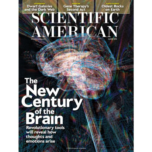 Scientific American, March 2014 audiobook cover art