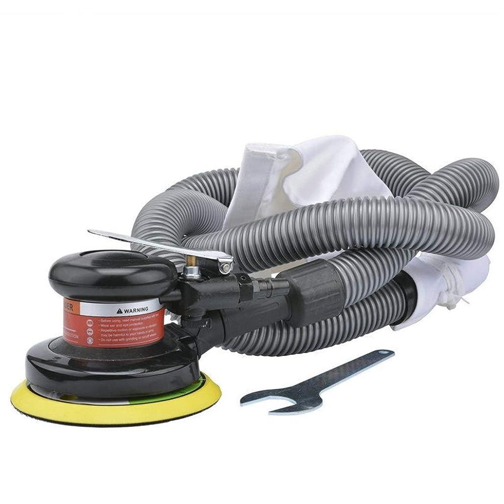 日付露骨な治療エア工具 5インチの吸引式空気圧機、自動研磨機、ハンドヘルドサンドマシン