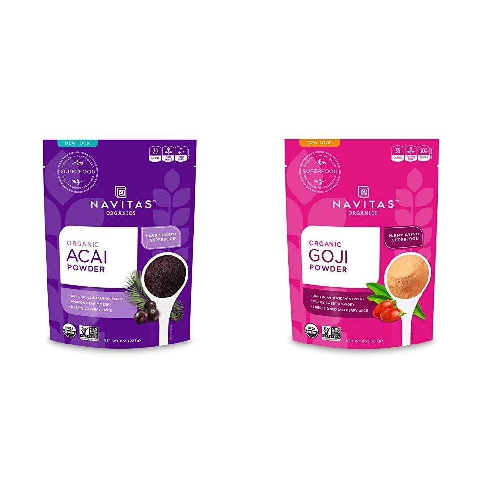 Navitas Organics low-pricing Acai Fees free!! Powder 8 oz. — Non-GMO Free Bag Organic