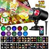 Elec3 Ocean Wave Christmas Projector Lights,16 Slides 2 in 1...