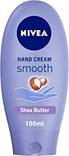 NIVEA Smooth Hand Cream, Shea Butter, 100ml