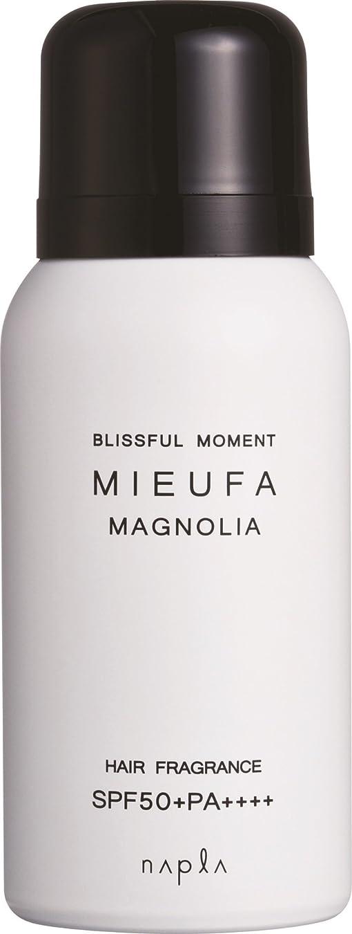 騙す調停するリフトナプラ ミーファ フレグランスUVスプレー マグノリア 80g