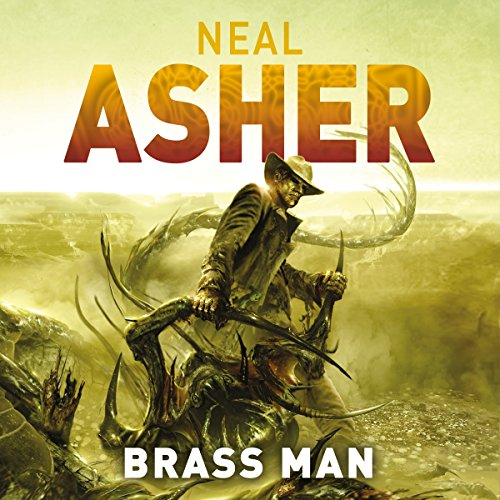 Brass Man audiobook cover art