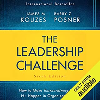 The Leadership Challenge Sixth Edition cover art