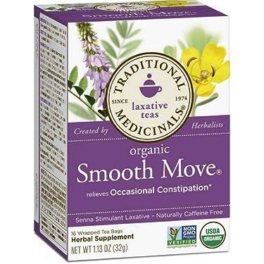 Tradicional Medicinal suave movimiento té de hierbas (bolsa de 3x16)