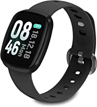 """Best Fullmosa Smart Watch 1.3"""" Touchscreen, IP68 Waterproof Active Tracker with Pedometer, Heart Rate Monitor Sleep Tracker Compatible with iOS Android, for iPhone Samsung Review"""