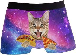 09076dc0e4a0 YUIHOME Men's Underwear Boxer Briefs in Multiple Colors Patterns & Designs  Low Rise Short Cut for