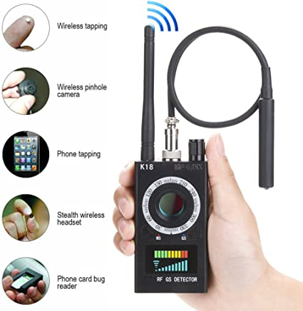 RF Detectors Bug Detector Anti-spy Hidden Camera GSM Audio Bug Sweeper Finder RF Signal