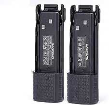 Replacement Battery BL-8 for Baofeng Walkie Talkies BF-UV-82HP UV-82HPL UV-82 UV-82C UV-82X (7.4V 3800mAh)