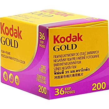 Kodak  カラーネガティブフィルム Gold200 36枚 (6033997)