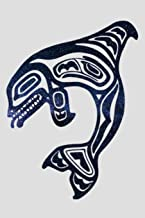 Native American Orca Killer Whale: Milky Way Totem Art Northwest Coast Notebook - Lined 120 Pages 6x9 Journal