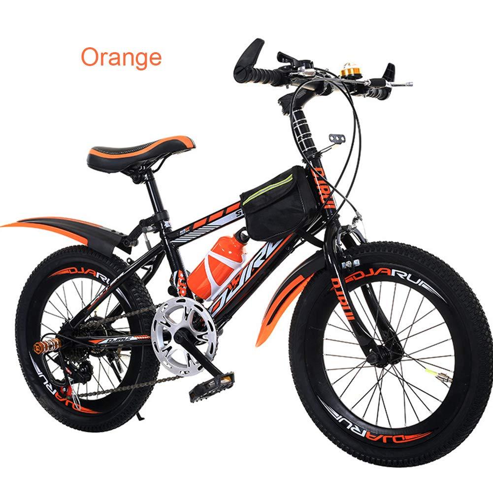 Bike 20pulg Bicicletas Infantiles de montaña 7 Velocidad,Unisex ...