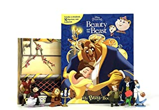 Phidal-Disney Beauty & The Beast My Busy Book - Multi color