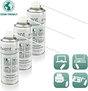 PACK - 3 SPRAY AIRE COMPRIMIDO EMINENT 400 ML UPRIGHT USE PARA LIMPIEZA DE TECLADOS, ORDENADORES, CAMARAS Y OTROS DISPOSITIVOS ELECTRONICOS