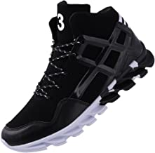 JOOMRA Men`s Stylish Sneakers High Top Athletic-Inspired Shoes