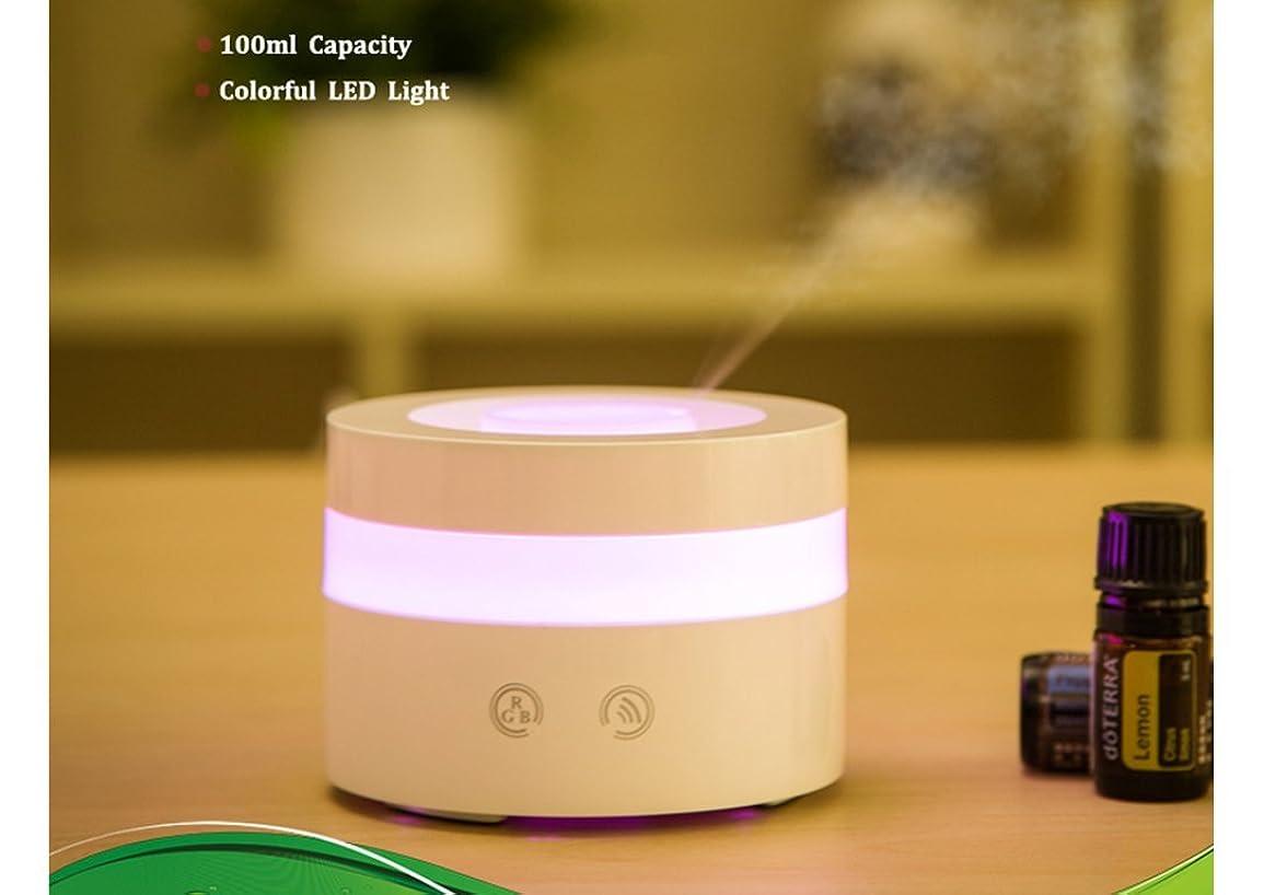 幻想的すり運命Actpe Portable Travel-size USB 100ml Aroma Essential Oil Diffuser Ultrasonic Air Humidifier Ultrasonic Cool Mist for Car Bedroom Baby Kids Home Office Spa by Actpe
