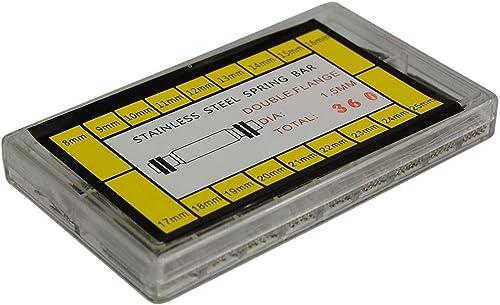 FamilyMall - Lote de 360 pasadores para correas de reloj (de 21 a 25 mm)