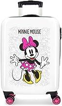 Disney Enjoy The Day Equipaje infantil, 55 cm, 34 litros, Blanco/Rosa
