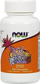 NOW Foods Kid Vits Multivitamin Tabs, Berry Blast, 120 Chewables