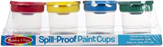 Melissa & Doug Spill Proof Paint Cups, Set of 4