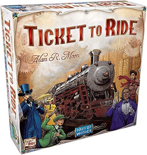 Asmodee Ticket to Ride Gioco da Tavolo, Gioco Base, Ed. Italiano 8510