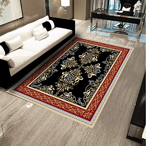 Teppich Gesamtmuster Bereich Teppich Polyester Bodenmatte Bettvorleger European Style Wohnkultur Teppich for Entryway studyroom Schlafzimmer Wohnzimmer Bereich Teppich Wohn-Esszimmer Teppich