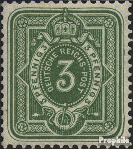 Prophila Collection Deutsches Reich 39c geprüft 1886 Pfennig (Briefmarken für Sammler)