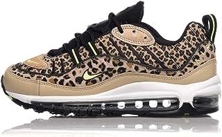 e936476865 Nike Womens Air Max 98 Premium Animal Pack BV1978-200 Desert Ore Volt Glow  Black