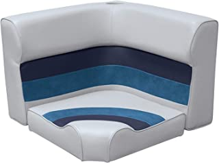 Wise Deluxe Series Pontoon Radius Corner Seat Cushion Set