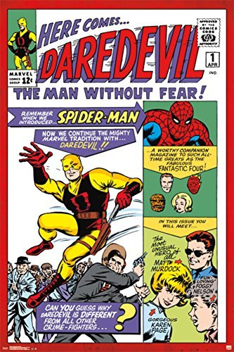 Daredevil #1 Poster 24 x 36in by Poster Revolution