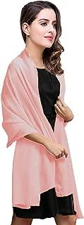 purple chiffon shawl