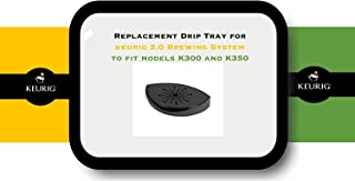 Keurig Brand Replacement Drip Tray for 2.0 Brewing System to fit models K300 and K350