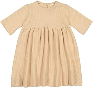 Teela Junior Girls Cable Knit Sweater Dress Style TTCD