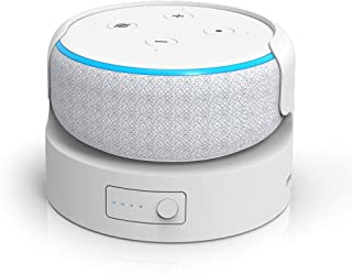 $36 » Battery Base for Echo Dot 3rd Gen Portable Wireless Charger for Echo Dot 3rd gen Charger Battery Pack Power Bank for Echo ...