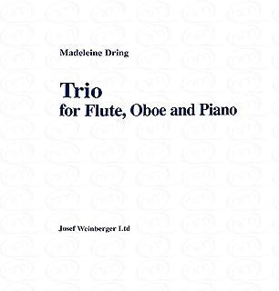Trio–Arreglados para flauta travesera–Oboe–Piano [de la fragancia/Alemán] Compositor: Dring Madeleine