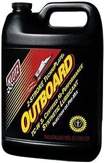 Klotz Oil KL-333 Outboard Oil Techniplate TC-W3-1gal.