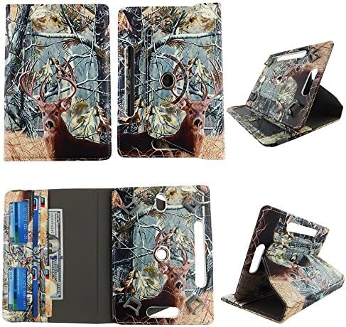 Camo Tail Deer tablet case 8 inch for Sony Xperia Z3 8 8inch android tablet cases 360 rotating product image