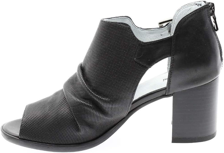 schwarz Giardini P907642D Sandale Frau Frau Frau  b02bc7